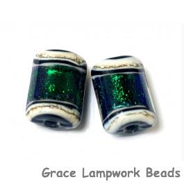 10506203 - Six Emerald Ridge Mini Kalera Beads