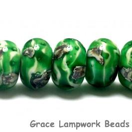 10507901 - Seven Greener Treasures Rondelle Beads