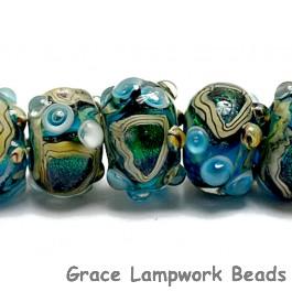 10508301 - Seven Mirage Lake Rondelle Beads
