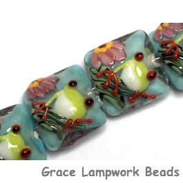 10508714 - Four Happy Frog Pillow Beads