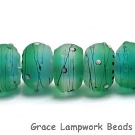 10508801 - Seven Emerald City Rondelle Beads