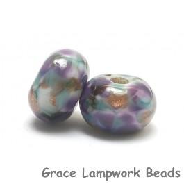 10603301 - Seven Wisteria Skies Rondelle Beads