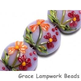 10604412 - Four Morgan's Bouquet Lentil Beads