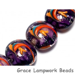 10604612 - Four Tropical Aquarium Lentil Beads