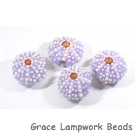 Purple sea urchin beads