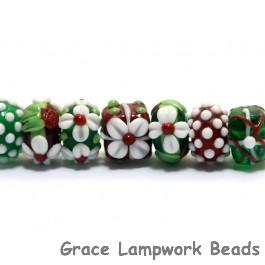 10702901 - Seven Christmas Beads