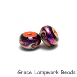 10706401 - Seven Magic Moment Waves Rondelle Beads