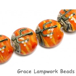 10707612 - Four Cactus Sunset Lentil Beads