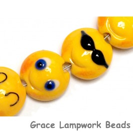 10802712 - Four Emoji Lentil Beads
