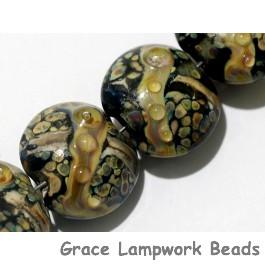 10902302 - Seven Cheyenne Rock Lentil Beads