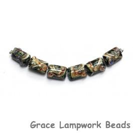 10902303 - Six Cheyenne Rock Mini Kalera Beads