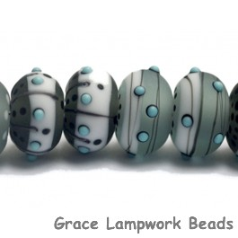 10903341 - Eight Slate City Rondelle Beads