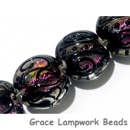 11006412 - Four Berry Glow Lentil Beads