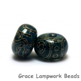 11203601 - Seven Green w/Stringer Rondelle Beads