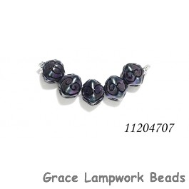 11204707 - Five Purple Pearl Surface Crystal Beads