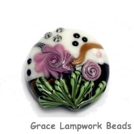11809302 - Aunt Evelyn's Garden Lentil Focal Bead
