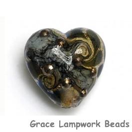 11814105 - Gray Blue w/Silver Foil Heart