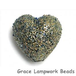 11817505 - Golden Green Metallic Heart