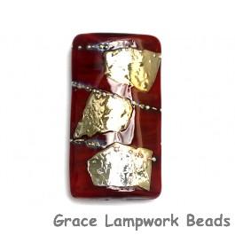 11818303 - Regal Red Metallic Kalera Focal Bead
