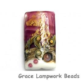 11818403 - Cranberry Treasure Kalera Focal Bead
