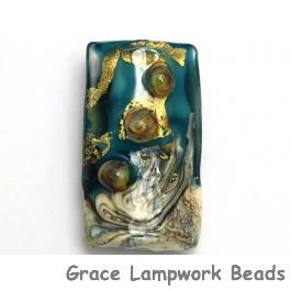 11819303 - Teal Treasure Kalera Focal Bead