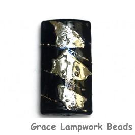 11819603 - Elegant Black Metallic Kalera Focal Bead