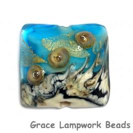 11819804 - Aqua Treasure Pillow Focal Bead
