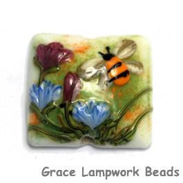 11830104 - Bumble Bee Garden Pillow Focal Bead