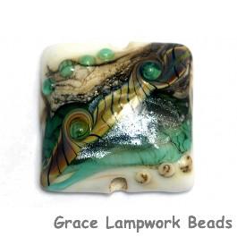 11831604 - Mint Stardust Pillow Focal Bead