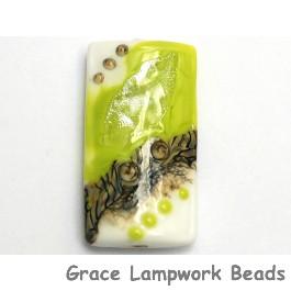 11831703 - Lime Stardust Kalera Focal Bead