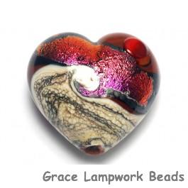 11833625 - Hot Lava Waves Heart (Large)