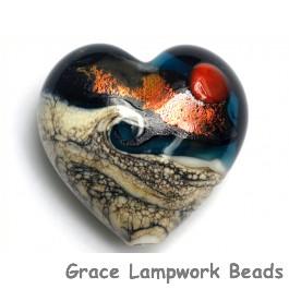11833725 - Romantic Isle Waves Heart (Large)