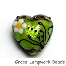 11838505 - Spring Green Florals Heart