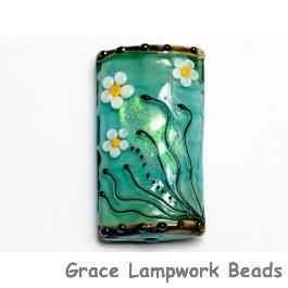 11838603 - Seafoam Florals Kalera Focal Bead