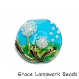 11838902 - Dandelion Wishes Lentil Focal Bead