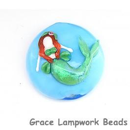 Mermaid Lentil Focal Bead