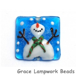 11839804 - Juggling Snowman Pillow Focal Bead