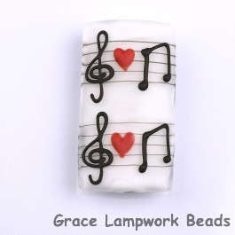 Grace Lampwork Beads Grace Lampwork Beads handmade glass beads musical note