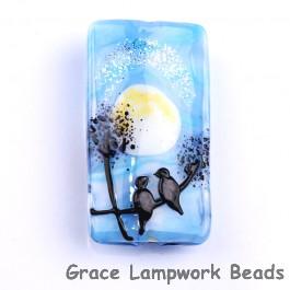 Grace Lampwork Beads, Hawaii Beach Sunset