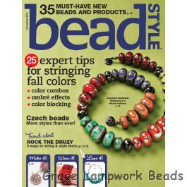LC-Bead Style Mag Cover and Cover Story