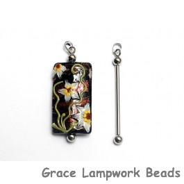 37mm - Silver-plated Bead Bar