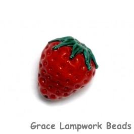 Strawberry Focal Bead