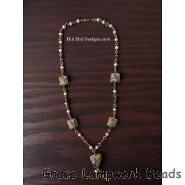 LC-Antique Garden Necklace