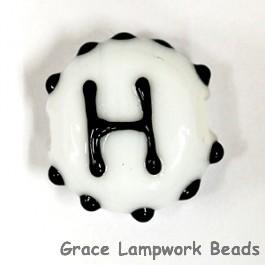 LTR-H: Letter H Single Bead