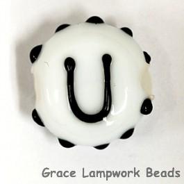 LTR-U: Letter U Single Bead