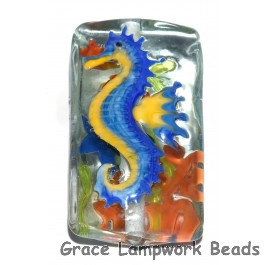 Seahorse Glass Beads Grace Lampwork Beads