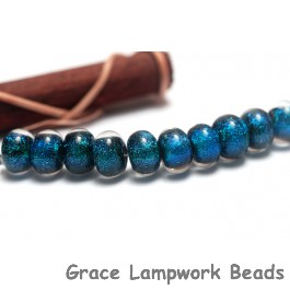 SP015 - Ten Oceanic Dichroic Spacer Beads