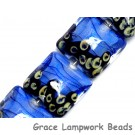 10413414 - Four Arctic Blue Shimmer Pillow Beads