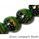 10507312 - Four Herbal Garden Shimmer Lentil Beads