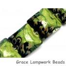 10507714 - Four Spring Green Shimmer Pillow Beads